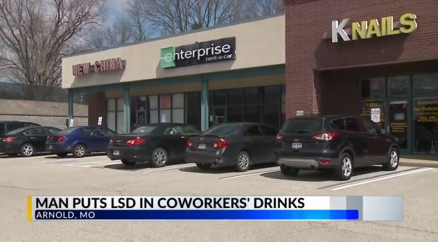 Missouri man accused of lacing co-workers' drinks with LSD http://bit.ly/2U2oNaT