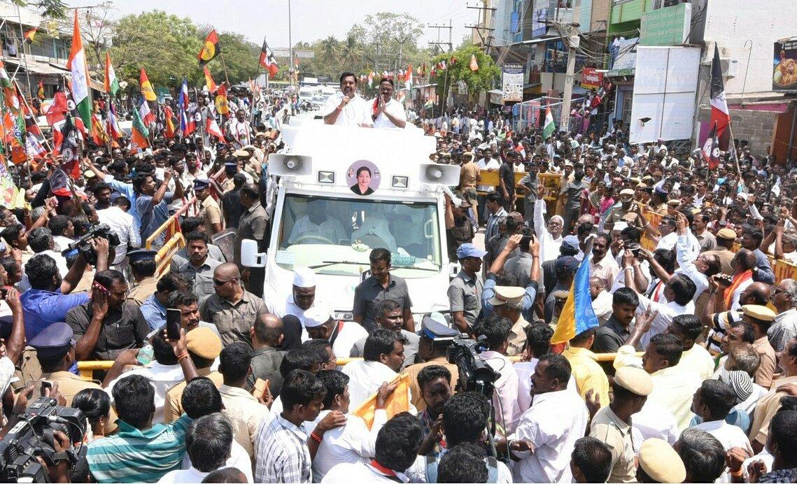 Image result for முதலமைச்சர் பழனிசாமி பிரச்சாரம்