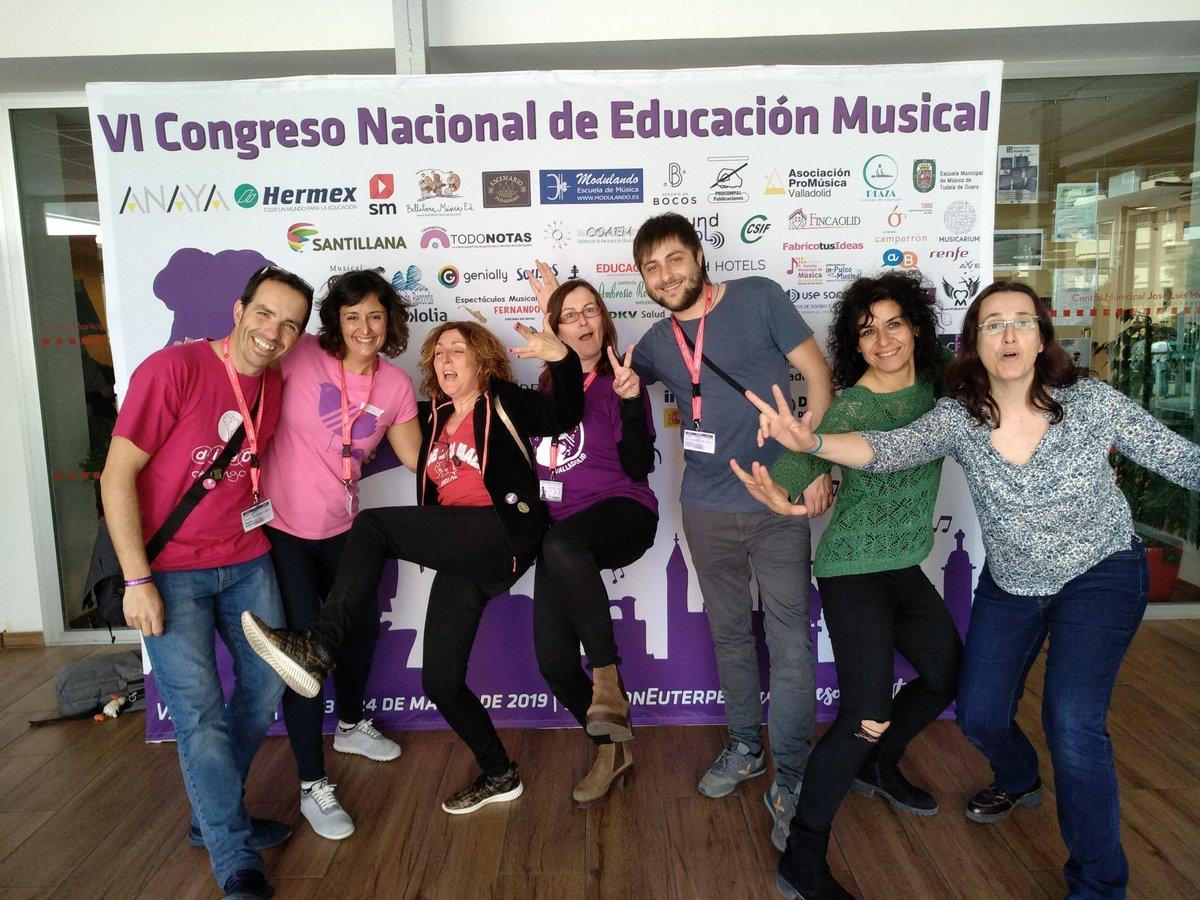 APMA Con la alegría de acoger en Aragón el VII Congreso Nacional de Educación Musical Con Euterpe. #ZaragozaconEuterpe #ConEuterpe2020. Enhorabuena a @C_ConEuterpe y a @imusicar por el fantástico #ConEuterpe19 que nunca olvidaremos. 😍 #EducaconMúsica #YoConEuterpe
