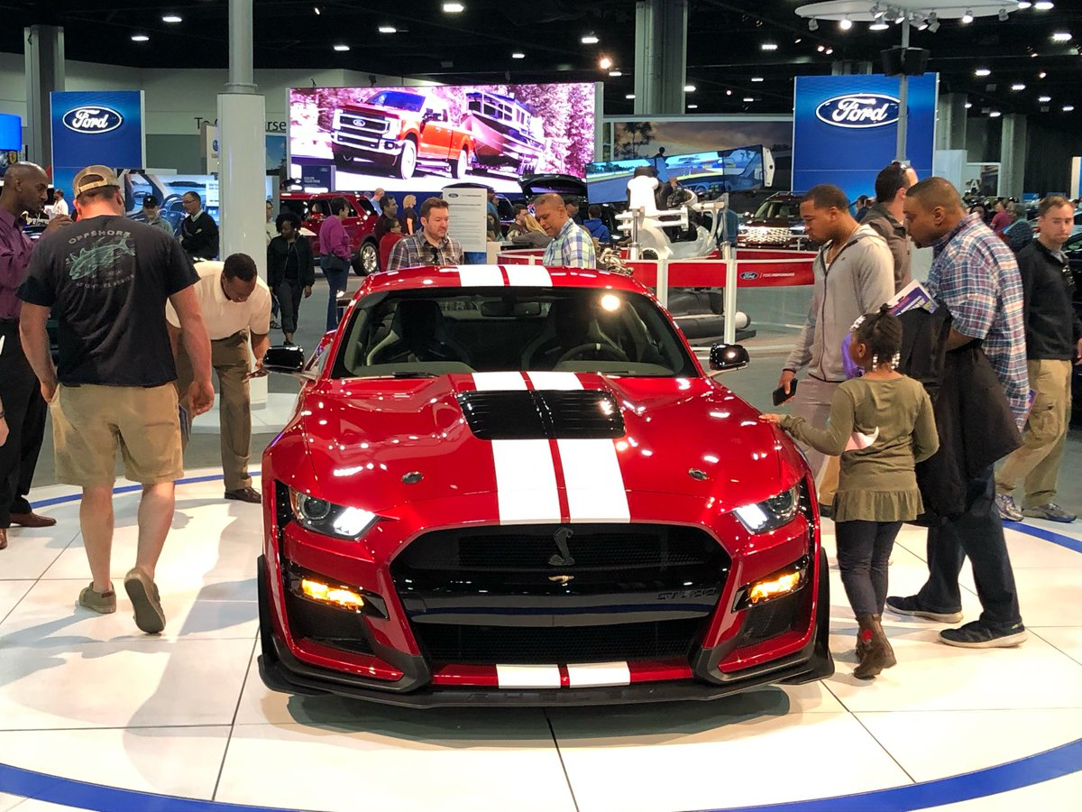 Come see us today at the Atlanta International Auto Show! We're open until 8pm, and there's fun for the whole family. http://GoAutoShow.com  | #AIAS19 #Atlanta #AutoShow
