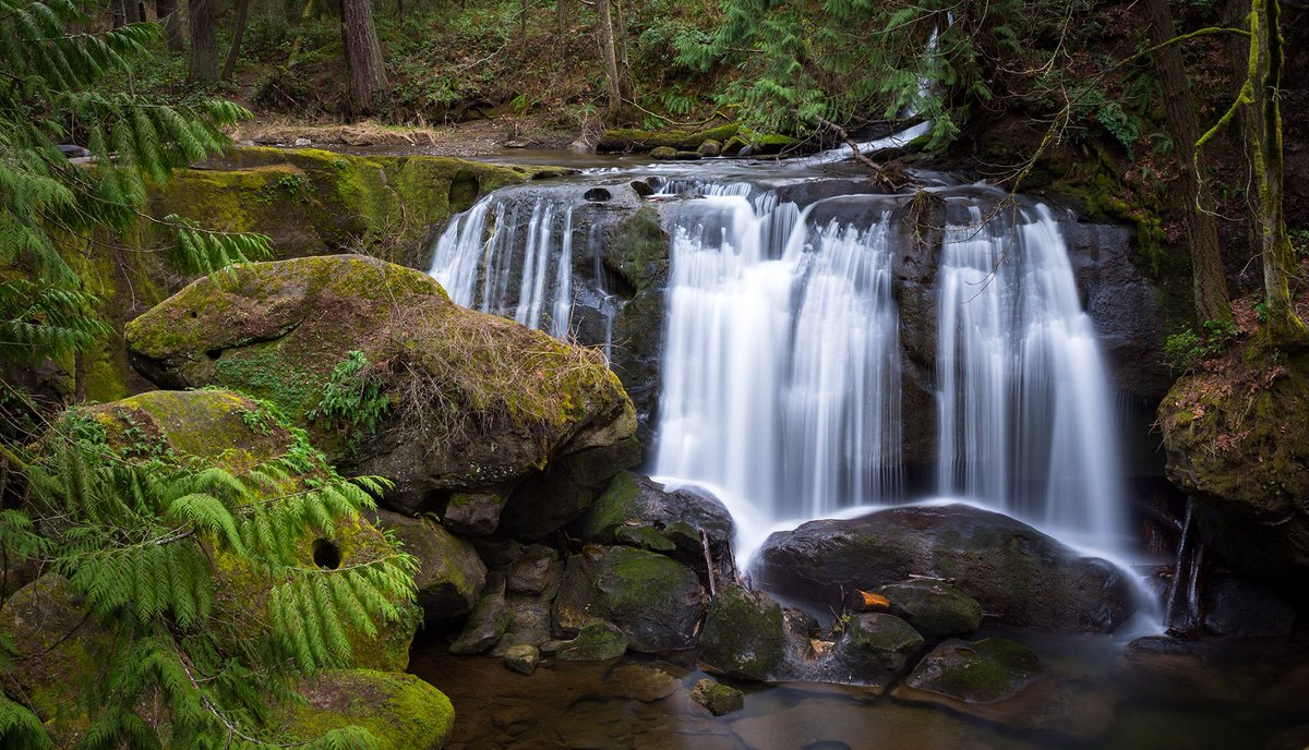 """Whatcom Falls""  #pentax @PENTAXIAN #pnw #whatcomfalls #bellingham @WAStatePks @WTA_hikers #bellingham #waterfall #SoNorthwest #longexposure"