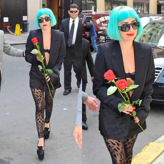 Lady Gaga visiting Crime Alley, where her parents were gunned down by Joe Chill years ago