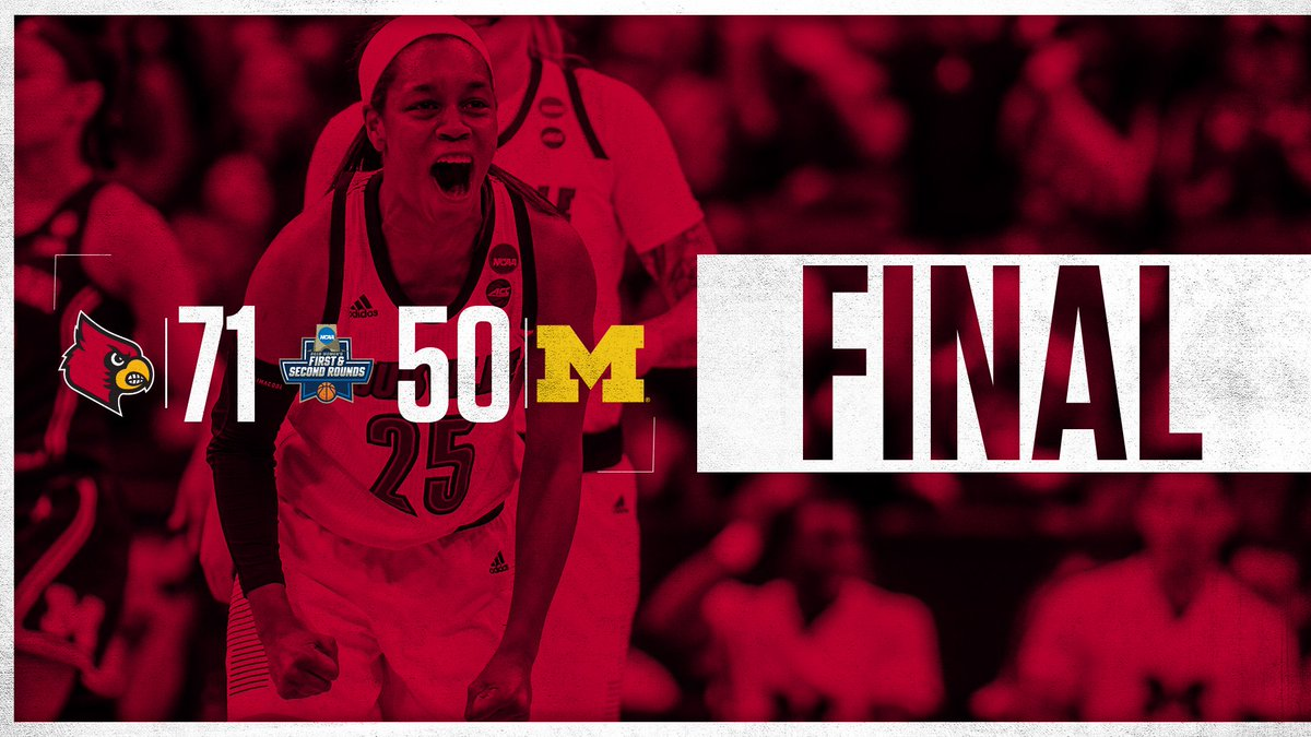 Sweet victory!!!  #ncaaW #GoCards https://t.co/h7iHAqZoii