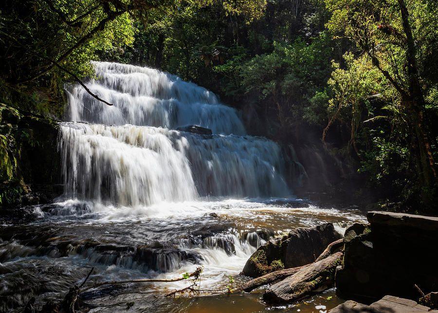 Purakaunui Falls Otago New Zealand https://buff.ly/2XBMqWP #NewZealand #otago #waterfalls #falls #waterfall @joancarroll