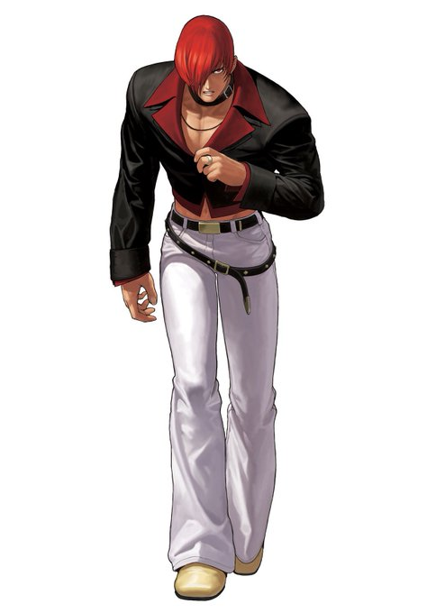 Happy early Birthday Iori Yagami ( March 25 )     the best character in King of Fighters history.