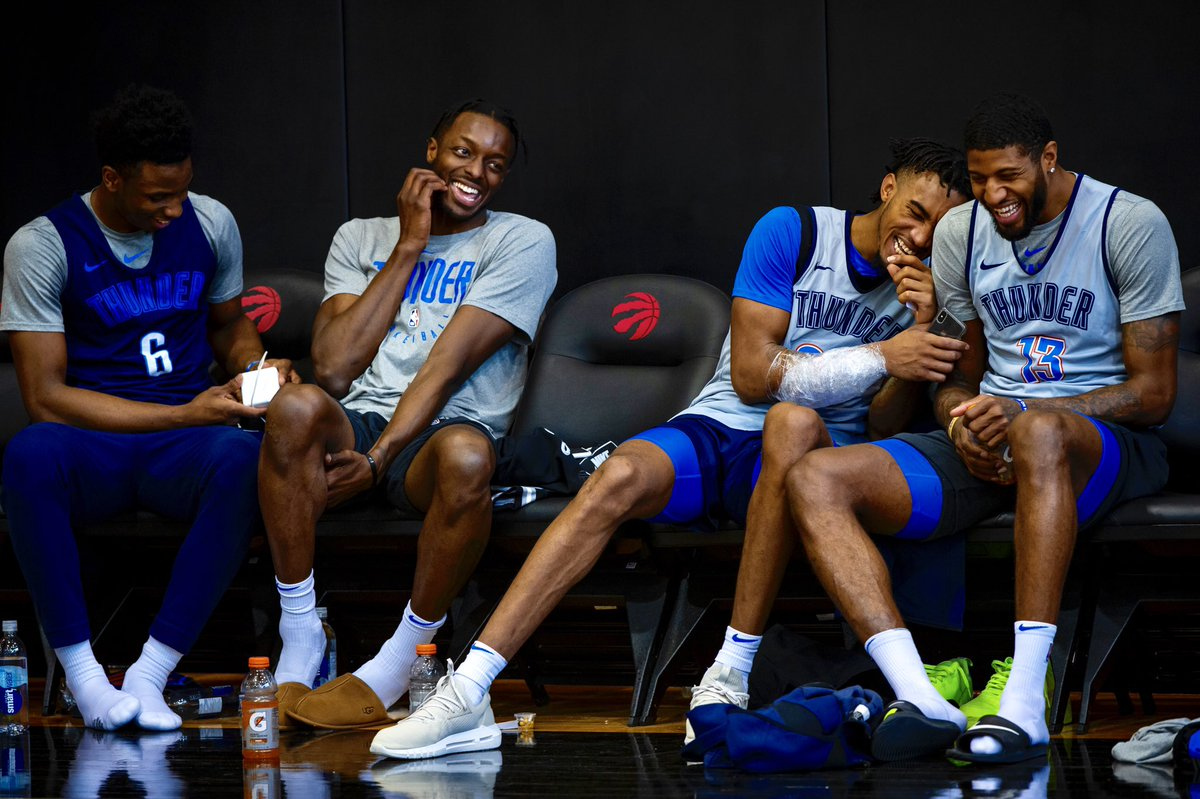 """""""These are the guys I wanna be on the floor with. However the ways we can get the best out of each other, that's what we go for.""""   - @Yg_Trece"""