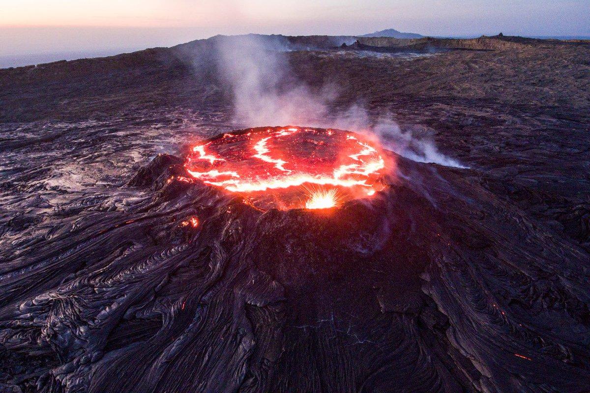 кратер вулкана картинки них