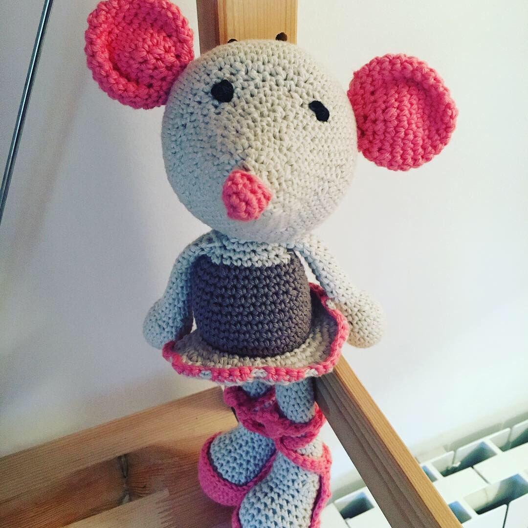 Patrón amigurumi ratita tutorial a crochet. En donpatron podrás ... | 1080x1080