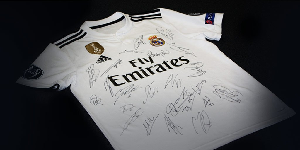 🛒✍👕 #RMShop  Get the chance to win a FULL SQUAD SIGNED Home Jersey! 🎁 SIGN UP TO PARTICIPATE!   👉 http://a.cstmapp.com/p/30395