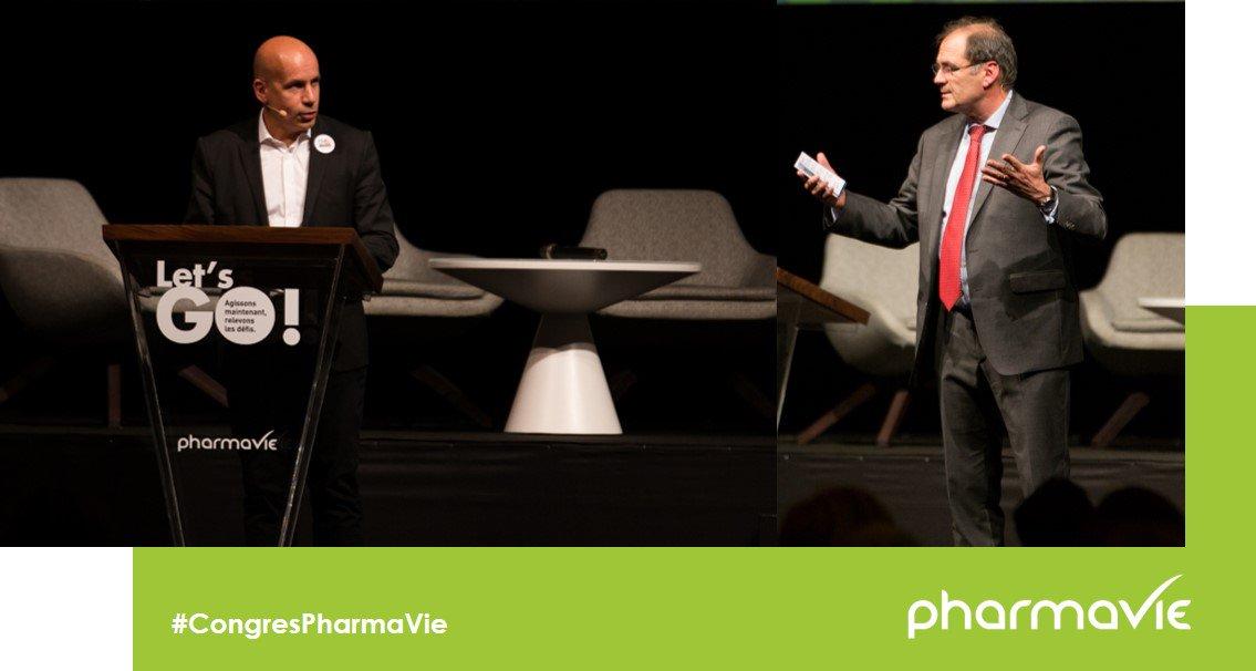 « Nous devons nous réinventer et accompagner la transformation du métier de #pharmacien. » « Nous progressons ensemble, notre succès, c'est votre succès » Pierre-Alexandre Mouret, Directeur des opérations et de la stratégie, et Jean Fabre, PDG clôturent le #CongrèsPharmaVie https://t.co/aFFZQr4s5p