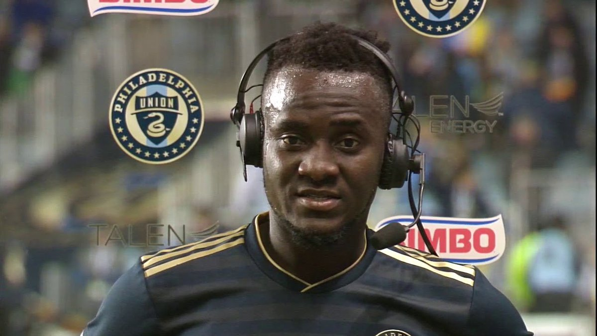 """David Accam: """"Today was all about my dad"""" #Union  https://fanly.link/b7b768651f"""