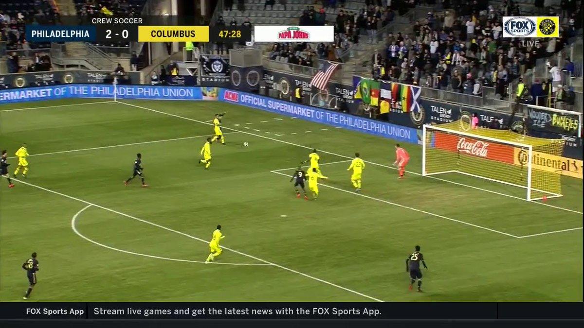 Ilsinho smacks it off the crossbar for our final goal vs the Crew! #Union  https://fanly.link/9e4a8697d7
