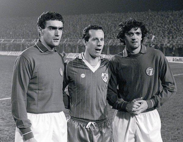 Bergomi, Brady & Altobelli. #interisti  #inter #ForzaInter #italia #ireland
