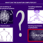 Image for the Tweet beginning: What can the Quantum Computer