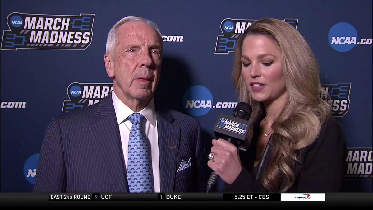 Roy Williams speaks with @ALaForce about the balance of @UNC_Basketball ahead of their showdown with @UW_MBB in Columbus.