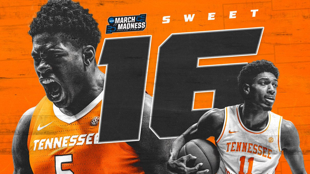 wild as a mink but sweet as soda pop  #VolNation, we will see you at the #Sweet16 ✊