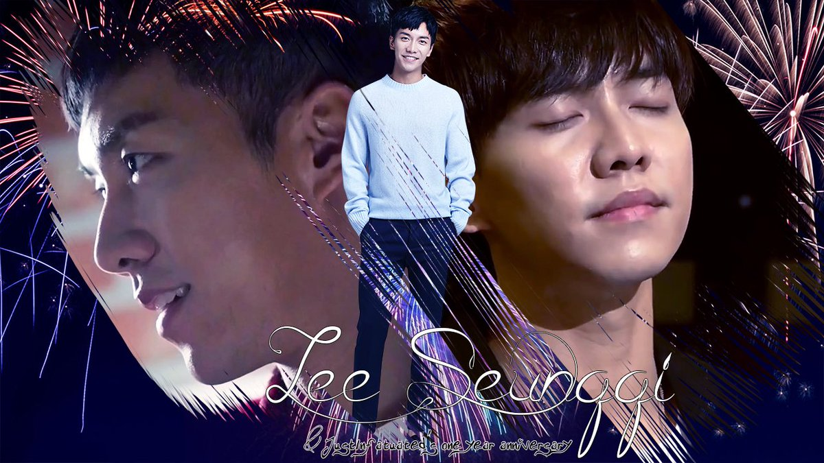 I said I'd celebrate my 1 year anniversary, for being a fan of Seunggi, late. I guess today is the day. One week and one day late because my spring break is a week later than usual.  Just infatuated, just like that. It is short and temporary. I realized this happens often, know..