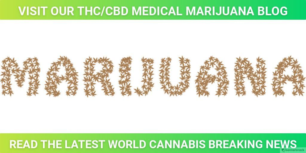 World #Cannabis Breaking News & Medical #Marijuana #Blog everything you want to know about #THC & #CBD Visit Us At https://buff.ly/2Pi2WWS