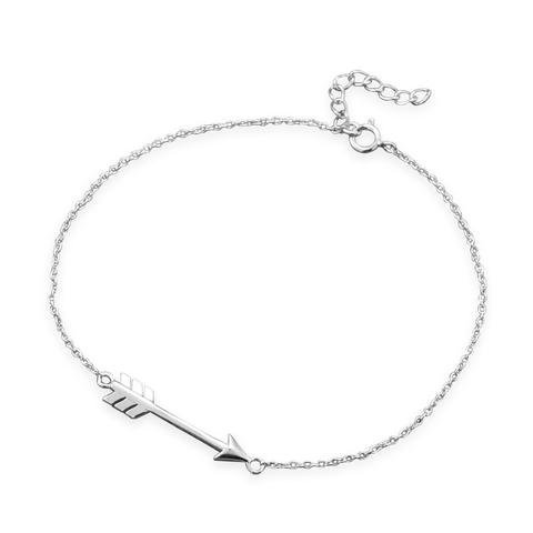 Excited to share the latest addition to my #etsy shop: Sterling Silver Chain Bracelet with Arrow - Gift Bracelet - Bracelet For Women - Anniversary Gift - Birthday Gift - New Silver Bracelet https://etsy.me/2TqoNNu #jewelry #bracelet #silver #birthday #lovefriendship #