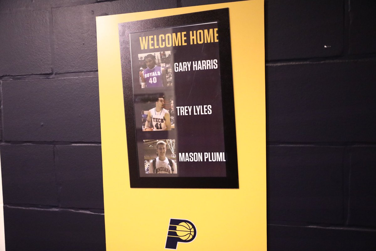 Getting a warm welcome in Indiana!  #MileHighBasketball