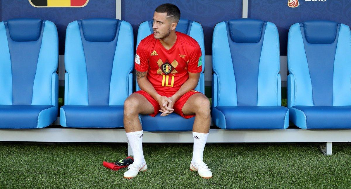 Eden Hazard since becoming Belgium captain:  👤 33 starts ⚽️ 17 goals 🅰️ 14 assists 2⃣ Moved up to 2nd on the all-time scorers list  🇧🇪 Leading by example.