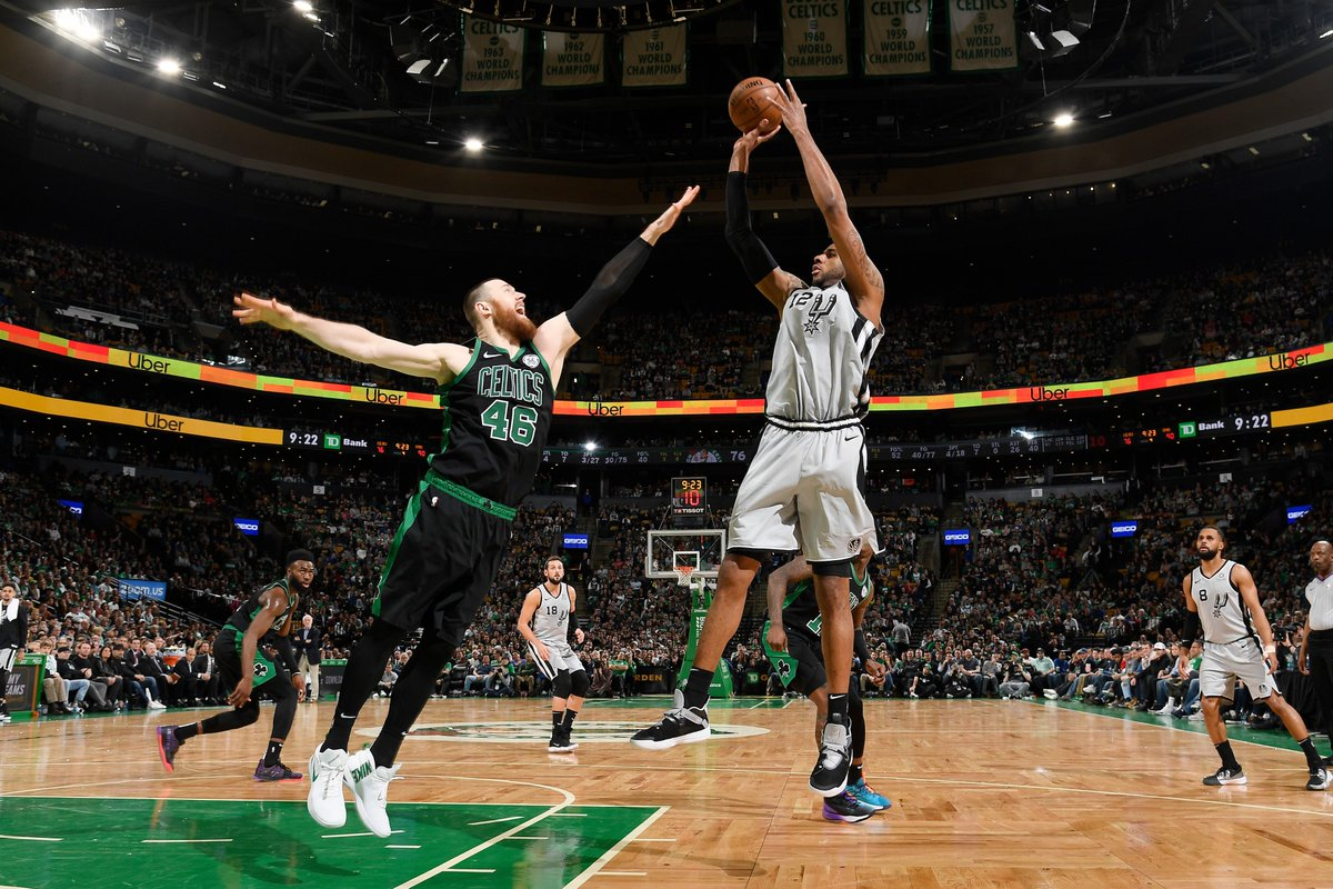 Bleacher Report NBA's photo on lamarcus aldridge