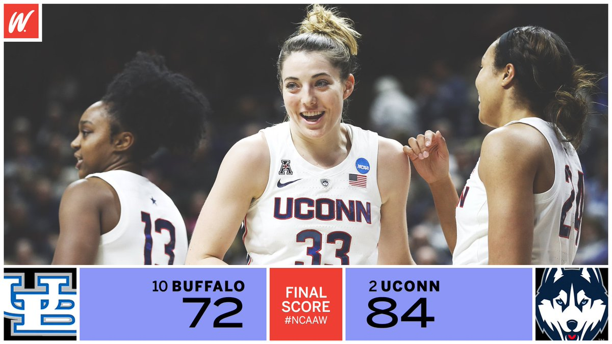 10-seed Buffalo never backed down, but the Huskies came out with W!