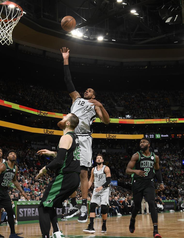 NBA's photo on lamarcus aldridge
