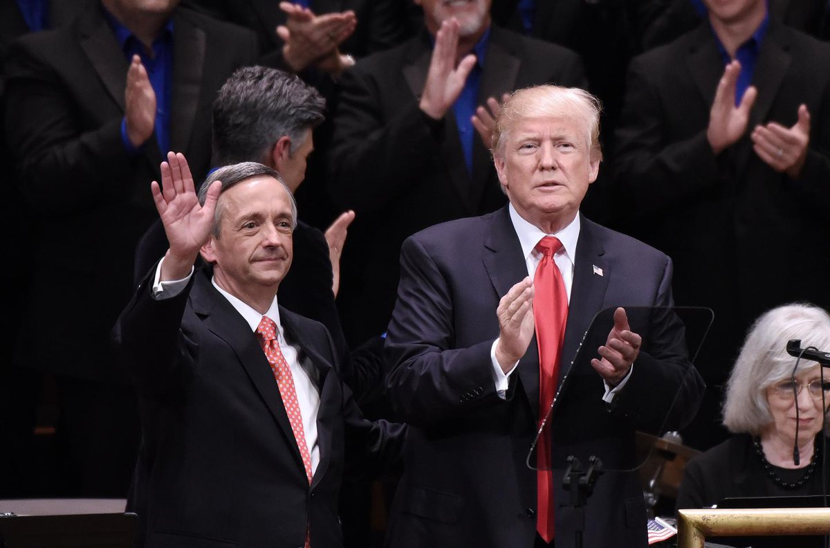Christians who support Trump are morally and spiritually superior, Pastor Robert Jeffress tells Fox News https://trib.al/Gt1RXcH