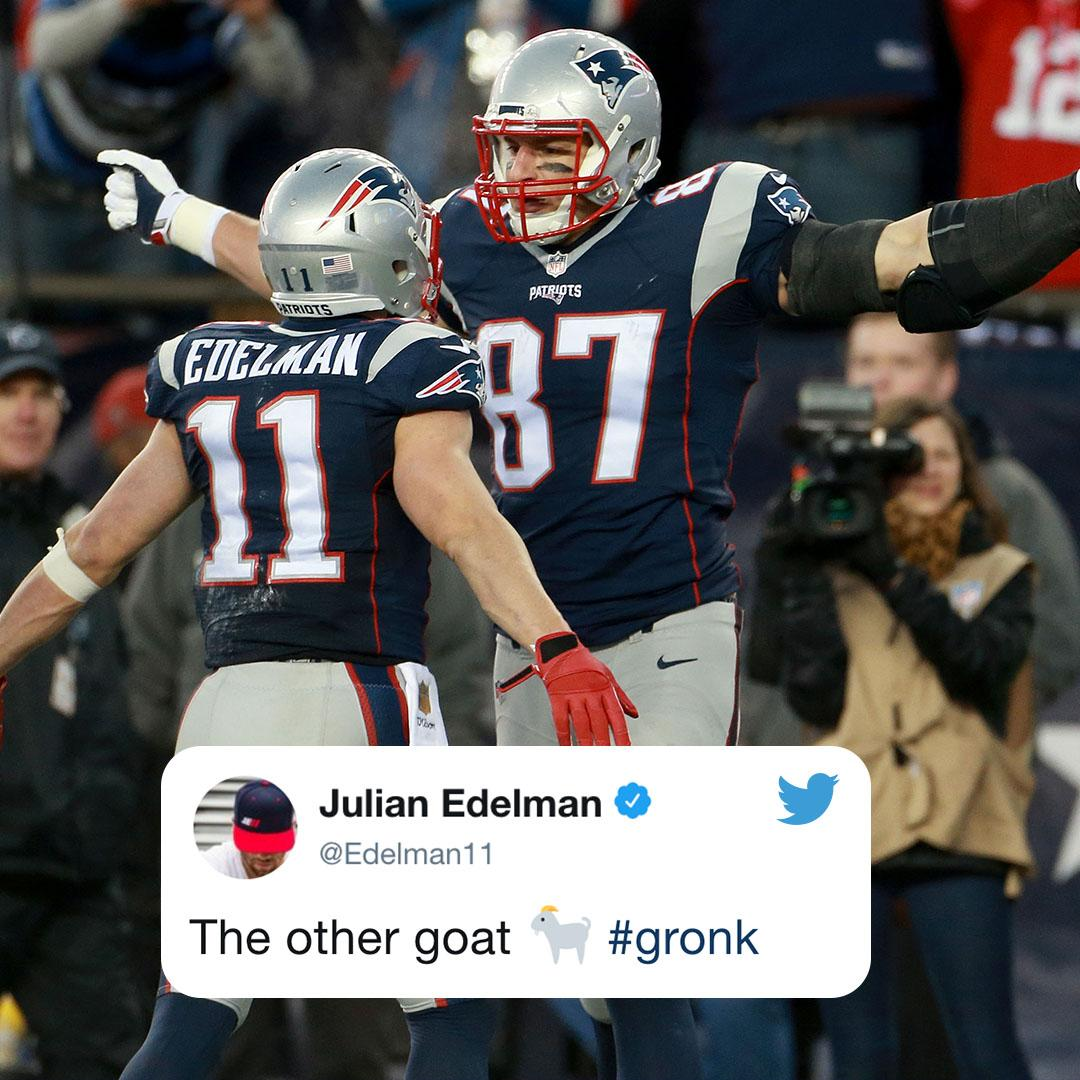 Some big NFL names congratulated @RobGronkowski on his iconic career �� https://t.co/PUoeGrBerw