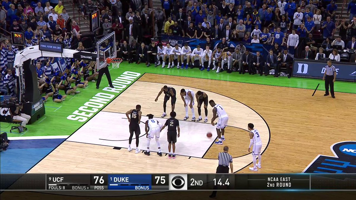 The wild Duke-UCF finish sent college basketball fans into a frenzy