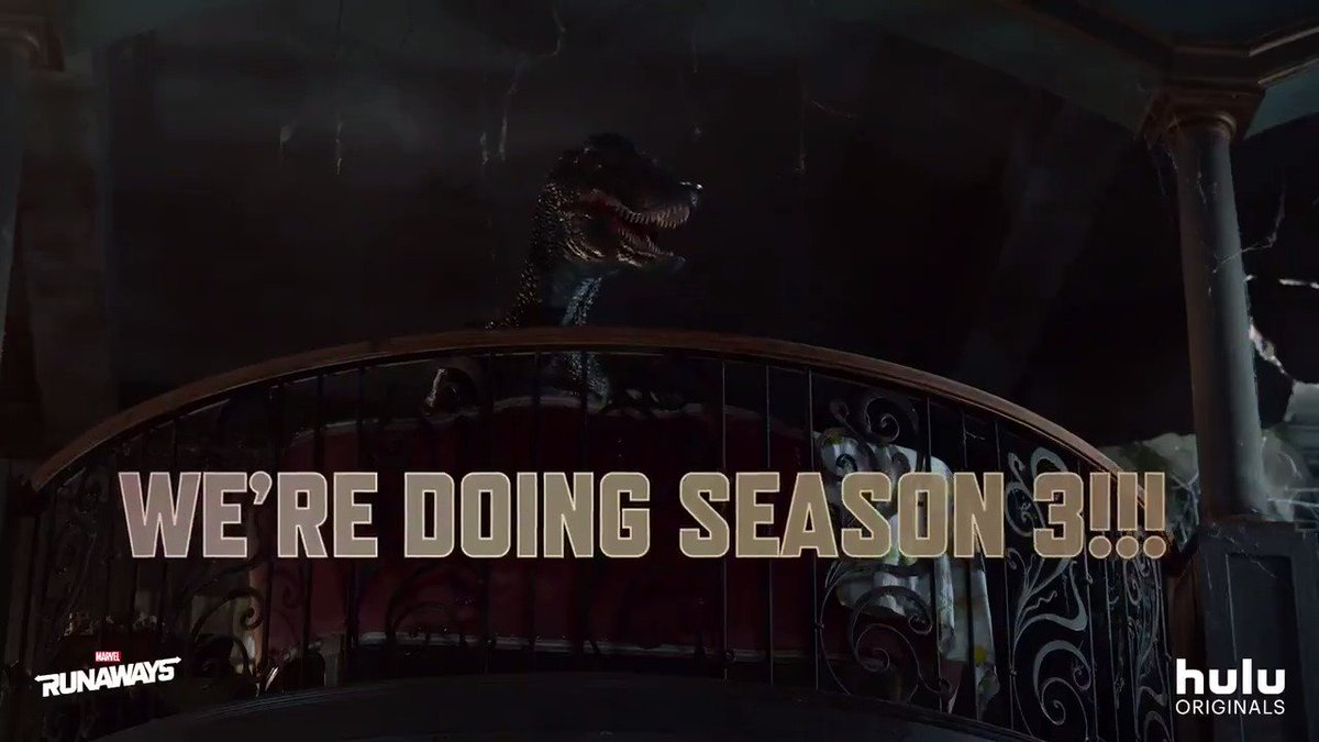 Heard our Old Lace loud and clear. See you all for Season 3! 😜 🦖