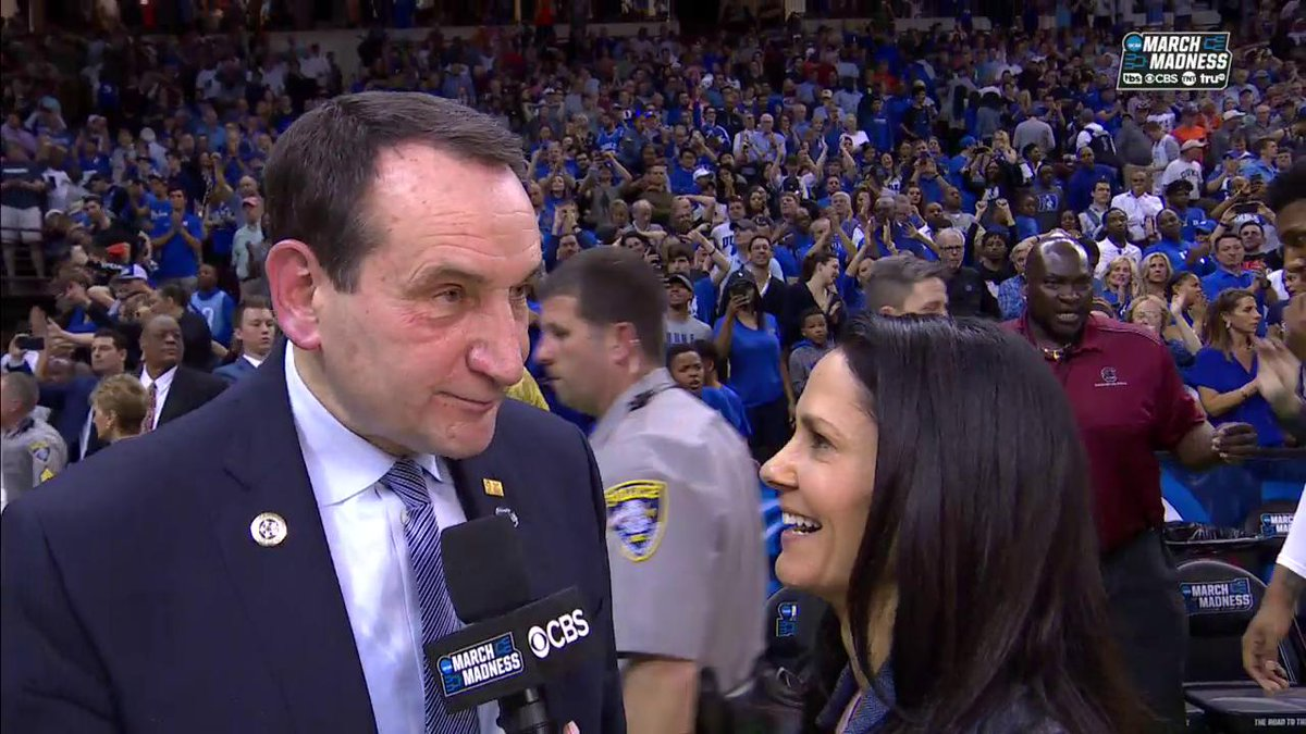 NCAA March Madness's photo on Coach K