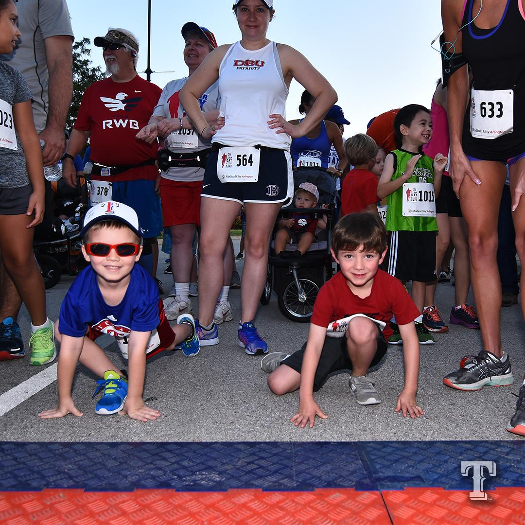 Race into baseball season on 4/14 with the Rangers 5K, presented by Medical City Healthcare!  http://texasrangers.com/race