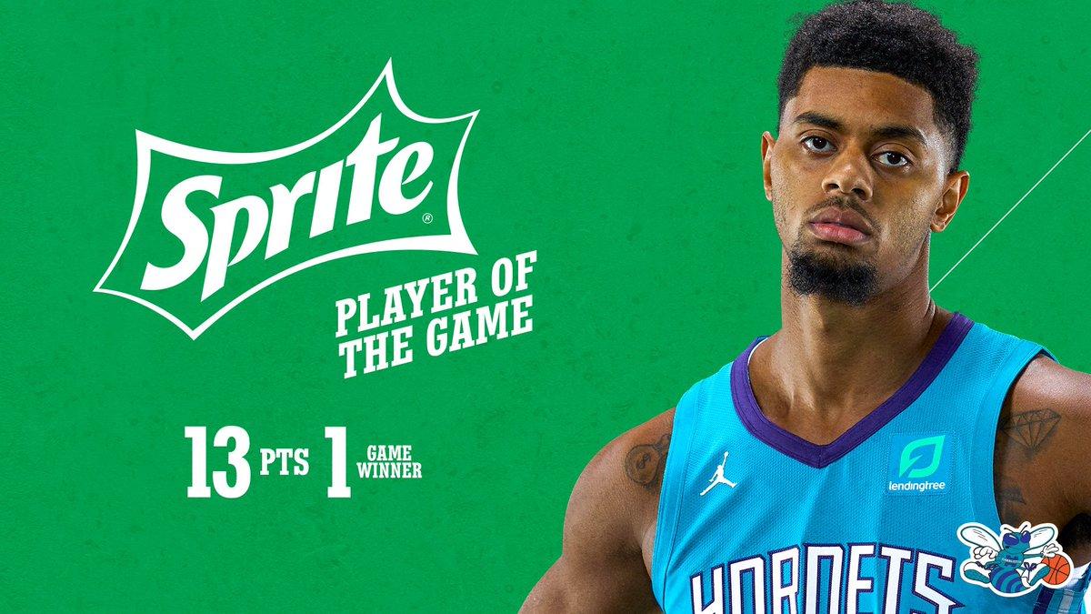 FLY. GUY.  @Sprite | #Hornets30