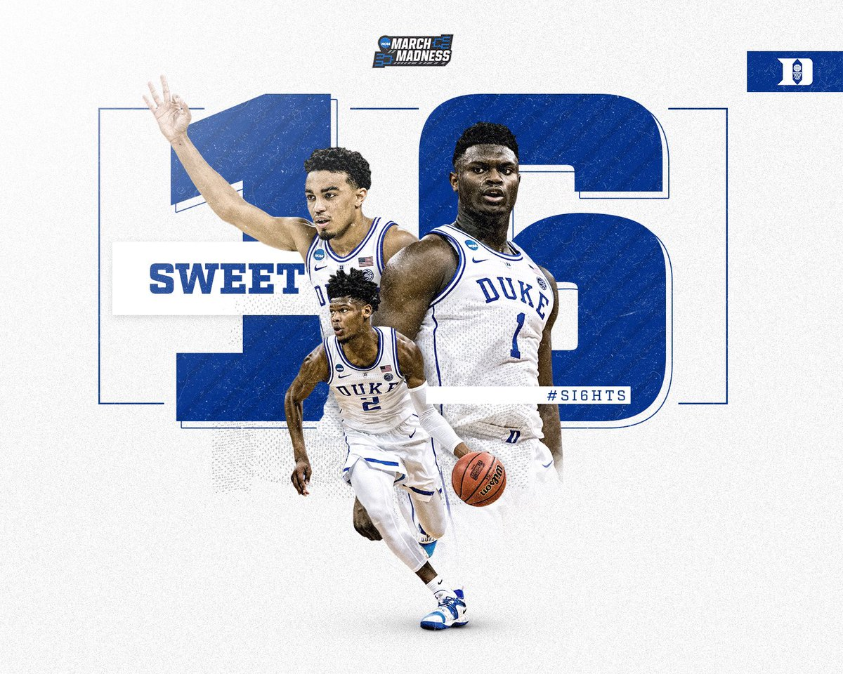 27th Sweet 16 in school history. 17th in 22 years.  #SI6HTS 🕺🔵😈