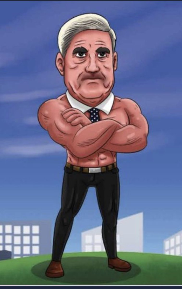 Perhaps it was a mistake to portray the special counsel as a chippendales dancer.