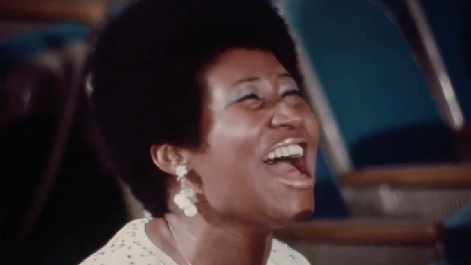 Happy Birthday to the Queen, Aretha Franklin.