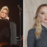 Image for the Tweet beginning: Pals @Adele and #JenniferLawrence hit
