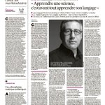 Image for the Tweet beginning: [#IA] Des articles sur l'#IntelligenceArtificielle