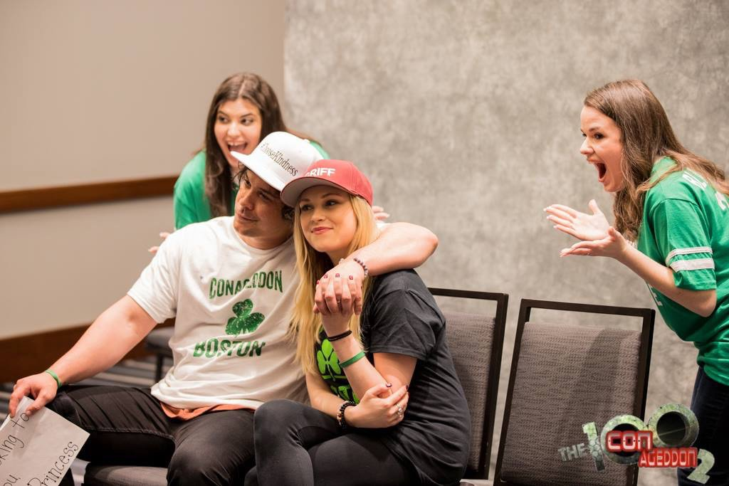 PHOTO | New pictures of Bob and Eliza with fans at #Conageddon2. See more photos here:  https:// m.facebook.com/pg/ConAgeddonC onvention/photos/?tab=album&amp;album_id=3123478681011107&amp;__xts__%5B0%5D=33.%7B%22logging_data%22%3A%7B%22event_type%22%3A%22tapped_open_page_album%22%2C%22impression_info%22%3A%22eyJmIjp7InBhZ2VfaWQiOiIyMjY3NTEzNzg5OTQwOTM4IiwiaXRlbV9jb3VudCI6IjAifX0%22%2C%22surface%22%3A%22mobile_page_photos_tab%22%2C%22interacted_story_type%22%3A%22148947852156832%22%2C%22session_id%22%3A%2254ffc983b46e28848fc368daa47d08ba%22%7D%7D&amp;ref=page_internal&amp;mt_nav=1 &nbsp; …  #Bellarke<br>http://pic.twitter.com/de7Af9z3X9