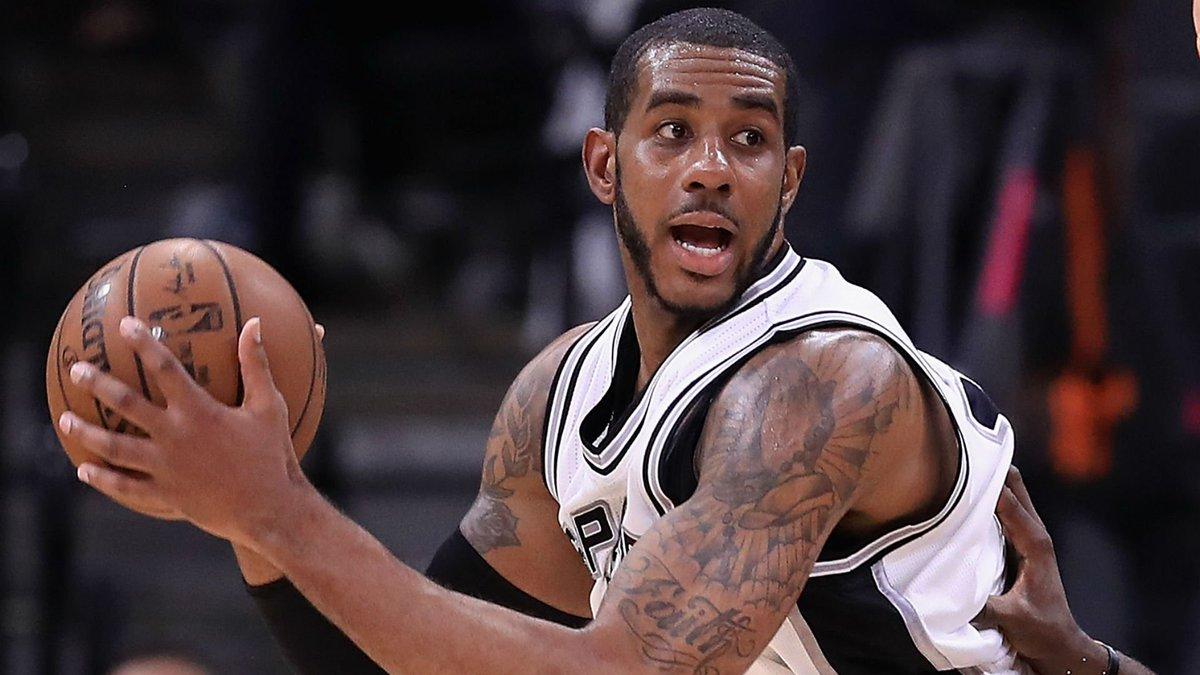 Sporting News NBA's photo on lamarcus aldridge