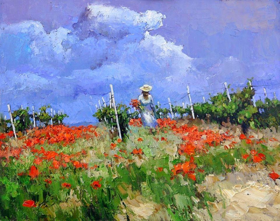 RT @ghani_b: 🌺🌻🌹That floral feeling 🥀🌷🌸   #painting 💛🧡❤️ Alexei Zaitsev  💜💙💚 https://t.co/tpvmDRZOFM