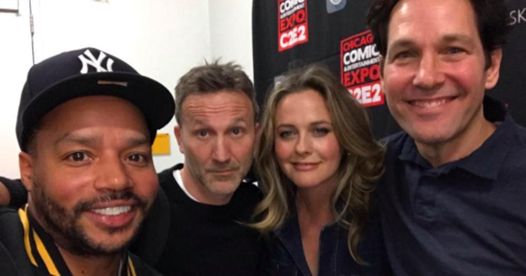 """""""Clueless"""" cast reunites nearly 25 years after film's release https://cbsn.ws/2UcfqoU"""