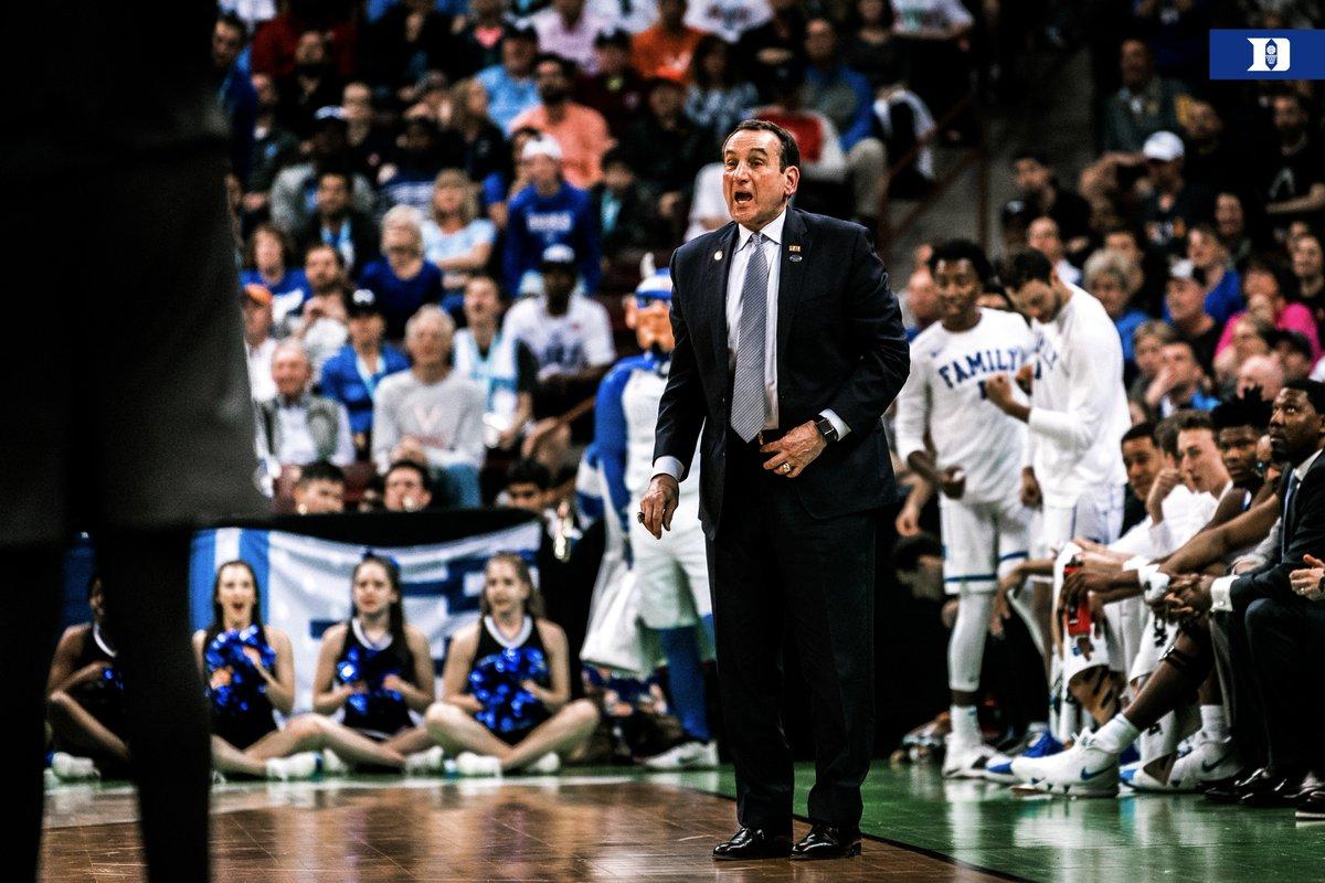 Duke Basketball's photo on Coach K