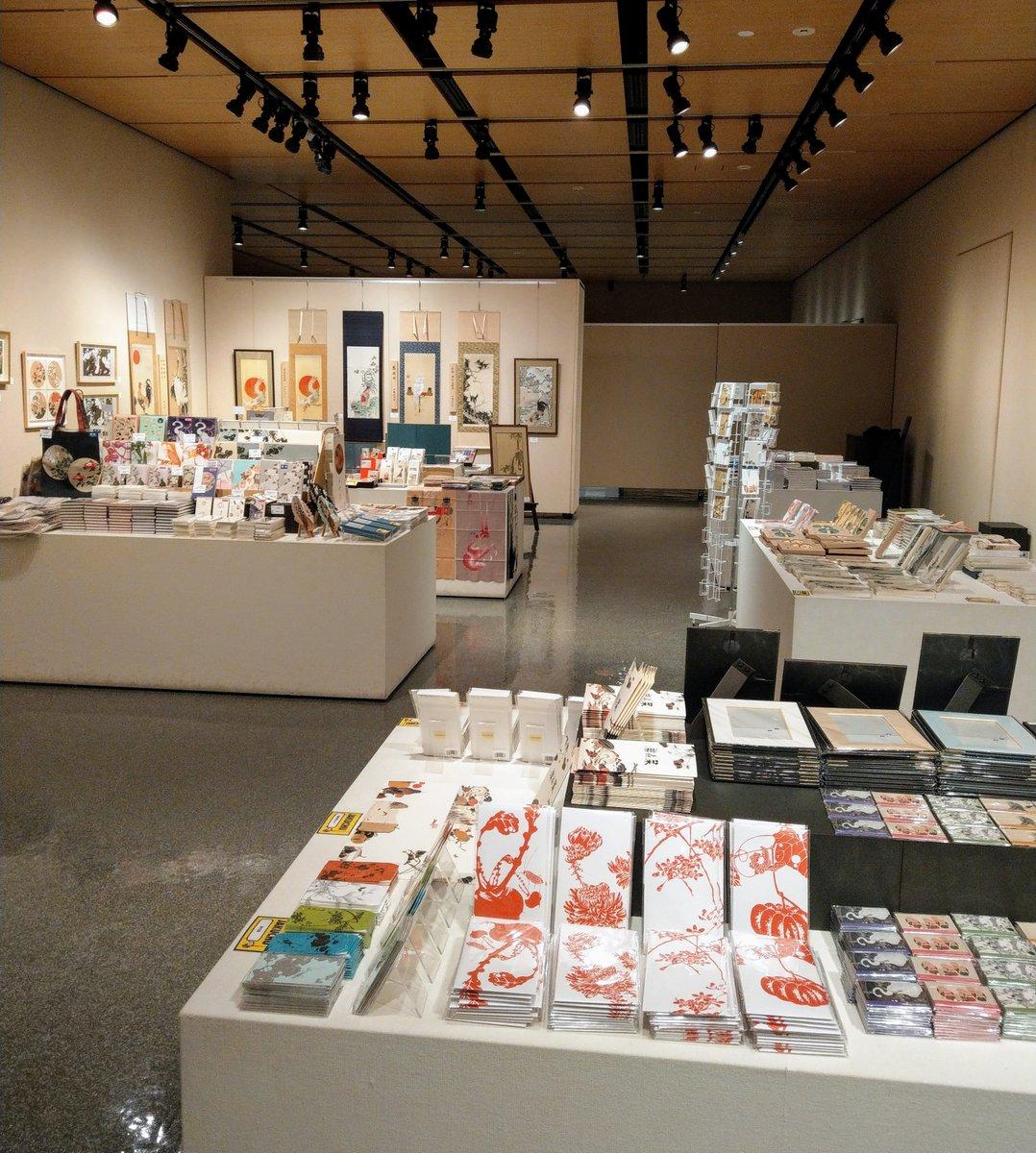 RT @JakuchuO: グッズコーナーも設営完了しました。ぜひお立ち寄りください。  #福島県立美術館 #伊藤若冲展 #ガチャガチャ #複製画 https://t.co/tIVKUsE4JH
