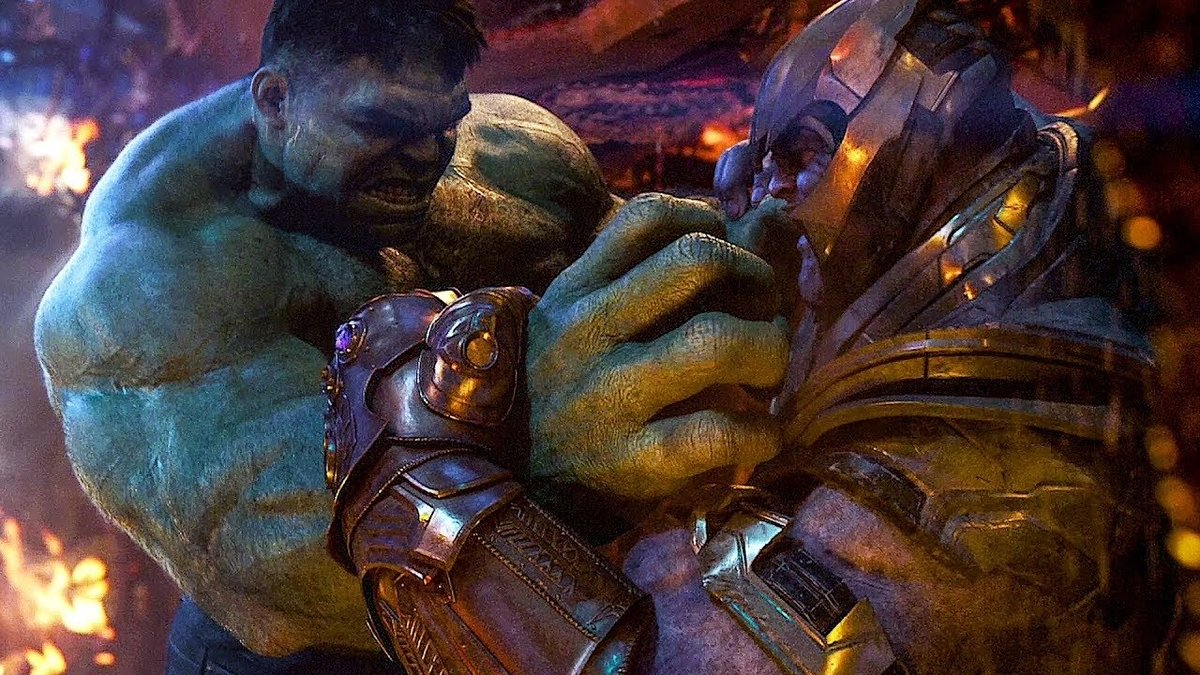 #InfinityWar theory thinks Thanos purposefully defeated the Hulk first:  https://t.co/fYnnExBXFb https://t.co/isUT9i5hTF