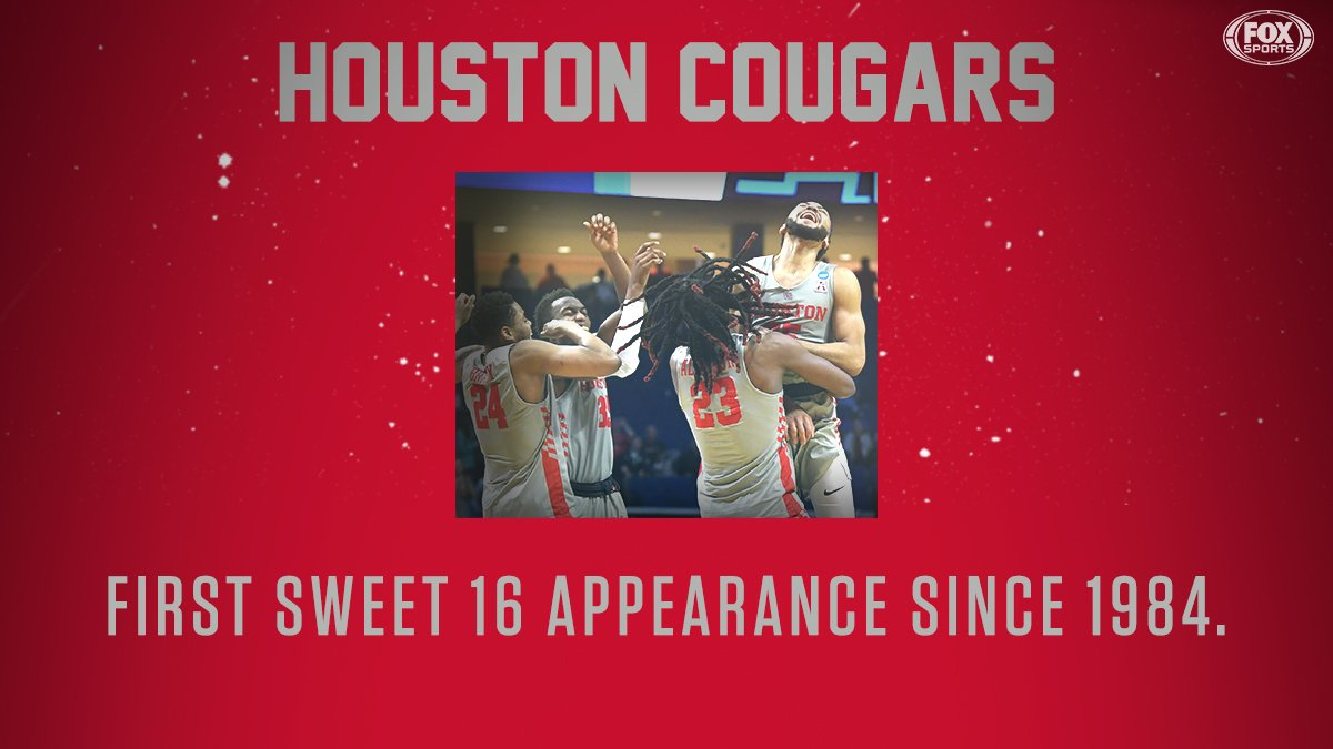 It's been a minute but the Coogs are makin' moves. #MarchMadness