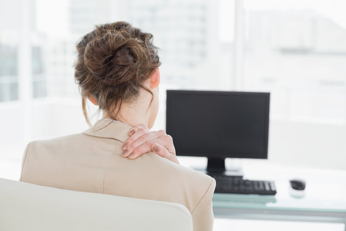 Check your posture  If you're sitting or standing for a long time with poor posture, your muscles can become tense, leading to back, shoulder & neck pain. Check your posture isn't contributing to your tension. http://bit.ly/2GPCqnU  #relaxation #employeewellbeing