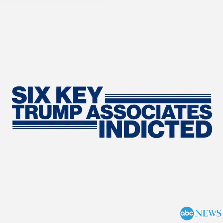 Six key Trump associates indicted in special counsel Robert Mueller's probe: https://t.co/4Y4XCM9XsA https://t.co/5VMGH8vsMm